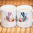 Personalised Love Bird Couple Mugs