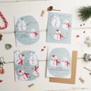 Pack Of Four Plantable Seed Christmas Cards