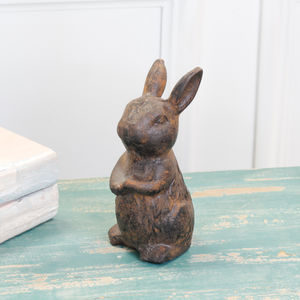 Woodland Rabbit Desk Friend Ornament