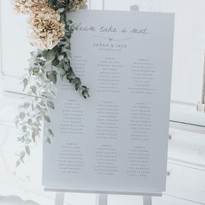 Tangled In Knots Table Plan - room decorations
