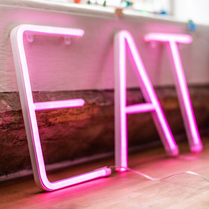 Personalised Neon Letter Light