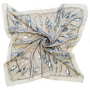Luna Actias | Butterfly Cocoon Square Silk Scarf