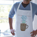 Personalised Percentage Apron