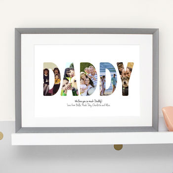 Personalised Father's Day Photograph Print