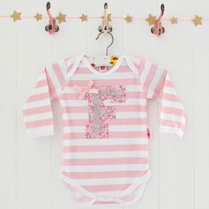 Baby Girl Personalised Bodysuit - babygrows