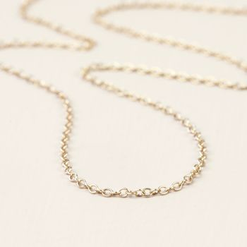Solid 9ct Gold Trace Chain