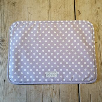 Madelaine Lavender Rectangle Chef Pad / Placemat