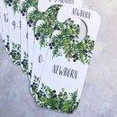 Baby's Wardrobe Clothing Dividers | Foliage Design