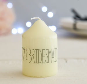 Wedding Party Candle