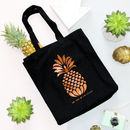 Pineapple Beach Shopper Tote Bag