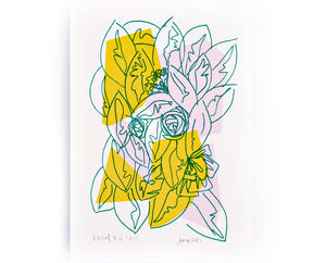 Floral Limited Edition Screen Print
