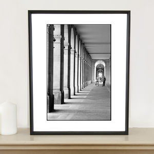 Arches, Barcelona Photographic Art Print