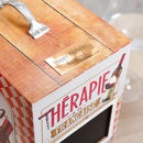 French Therapy Vintage Style Wine Box