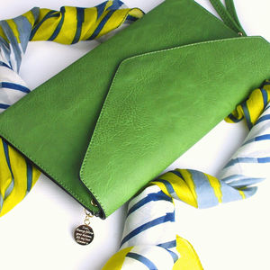 Personalised Bea Brights Clutch Bag - womens