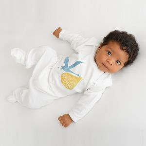 Personalised Delivering Stork Baby Grow - gifts for babies