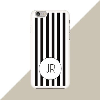 Personalised Striped Phone Case