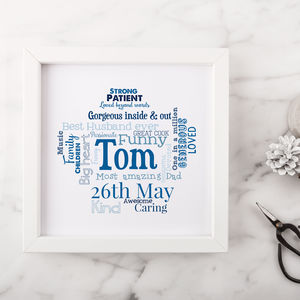 Personalised Birthday Gift For Him