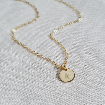 Personalised Mini Initial Necklace