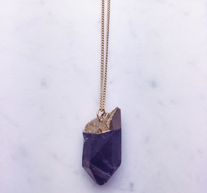 Large Smoky Quartz Necklace
