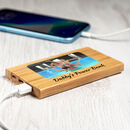 Personalised Power Bank With Photo