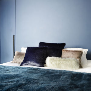 Luxury Faux Fur Throw - throws, blankets & fabric