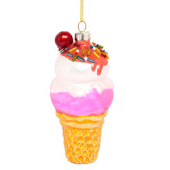 Kitsch Ice Cream Hanging Decoration