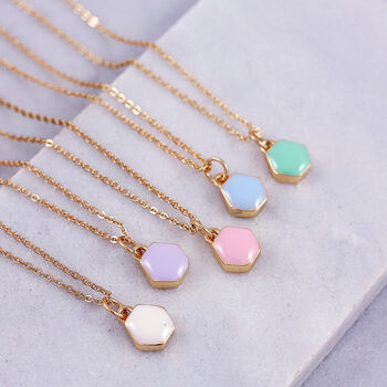 Mini Enamel Necklace