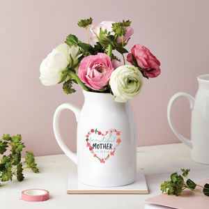 Personalised Floral Heart Flower Vase - what's new