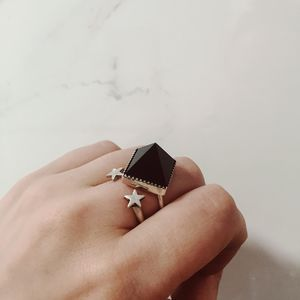 Matilda Pyramid Ring - rings