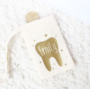'Tooth Fairy' Personalised Bag - money boxes