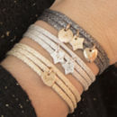 Personalised Sparkle Wrap Bracelet