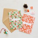 Floral Festive Charity Christmas Cards *Special Offer*