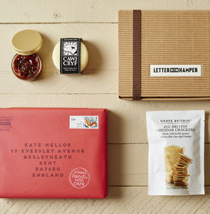 Luxury Cheese And Biscuits Hamper By Post - food & drink