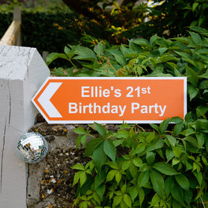 Personalised Party Sign - art & decorations