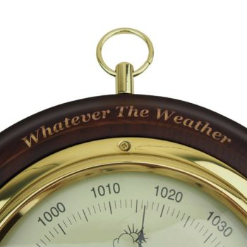 Wooden Weather Dial Personalisation Upgrade