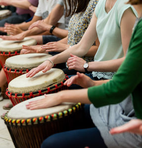 African Drumming Workshop For Six