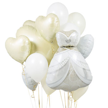 Elegance Wedding Crazy Balloon Bunch