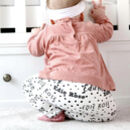 Personalised Spot Organic Children's Leggings