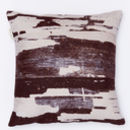 Monochrome Statement Linen Cushion Cover