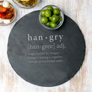 The Definition Of Hangry Serving Board