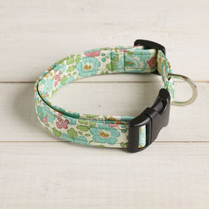 Doris Liberty Fabric Dog Collar - dog collars