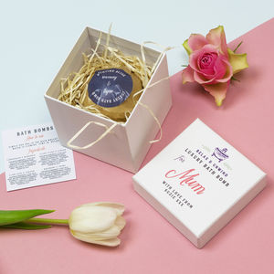 Personalised Individual Luxury Bath Bomb - gift sets