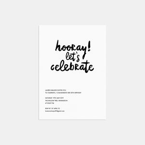 Adult Party Invitations Notonthehighstreet