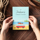 Personalised Motorhome Travel Journal Notebook