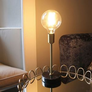 Vintage Bulb Table Lamp - lighting