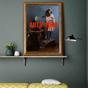 Auto Tune Vintage, Canvas Art