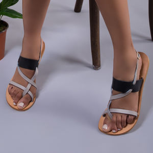 Ngai Adjustable Leather Sandals