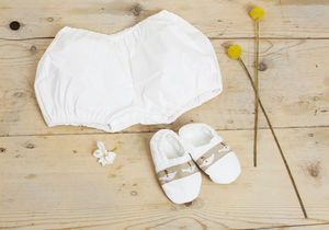 Organic Cotton Bloomers In A Box - clothing