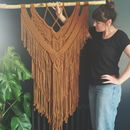 Macrame Wall Hanging Copper