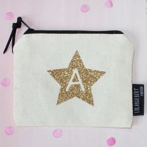 Glitter Letter Purse - stocking fillers for her